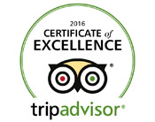 2016 Certificate of Excellence - Spellbound Tours