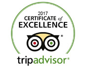 2017 Certificate of Excellence - Spellbound Tours